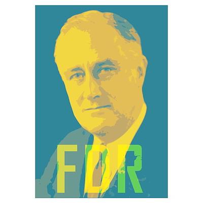 Franklin Roosevelt Poster