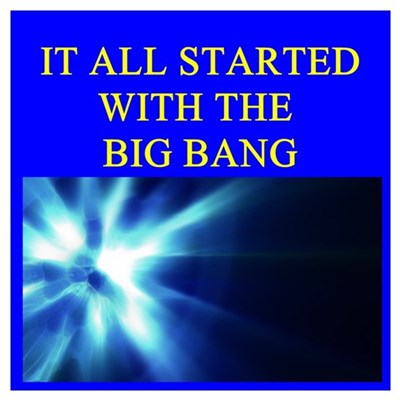 big bang theory physics Poster
