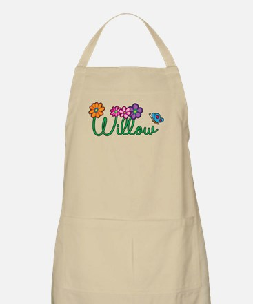 Willow Flowers Apron