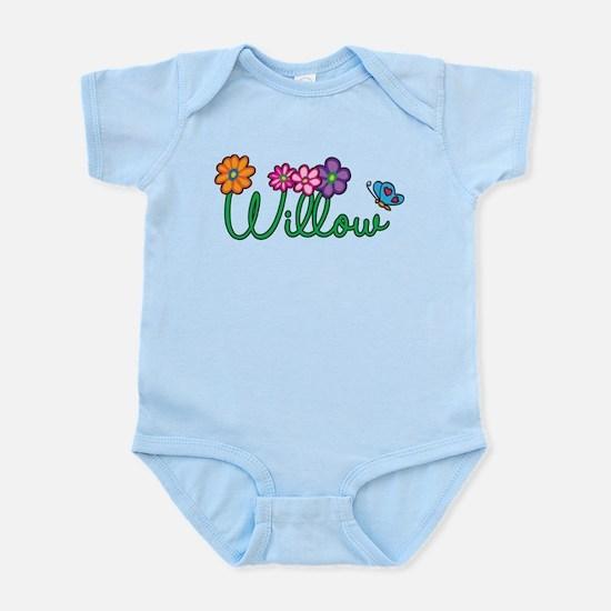 Willow Flowers Infant Bodysuit