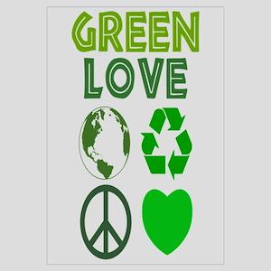 Green Love - Heart 1
