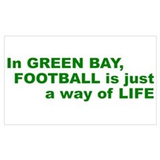 Football Green Bay Canvas Art