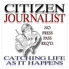 Citizen Journalist Poster