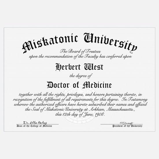 Miskatonic Diploma (Herbert West)