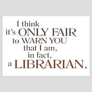 I am a Librarian!