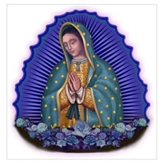 Lady of Guadalupe T6 Poster