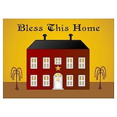 Folk Art Home Poster
