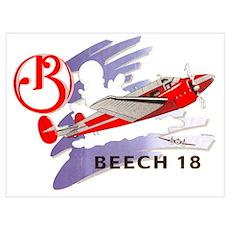 BEECH 18 Poster