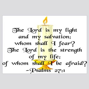 """The Lord is my light..."""