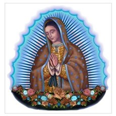 Lady of Guadalupe T5 Poster