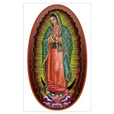 6 Lady of Guadalupe Poster
