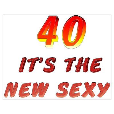 40th Birthday Poster
