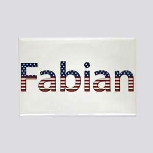 Fabian Stars and Stripes Rectangle Magnet