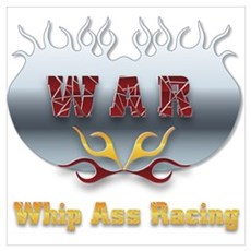 Whip Ass Racing &copy Poster