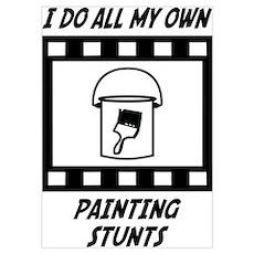 Painting Stunts Poster