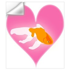 Goldfish Love Wall Decal