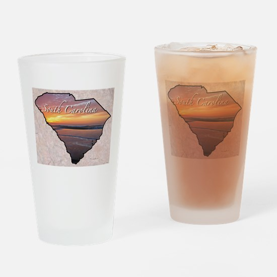 Cute South carolina Drinking Glass