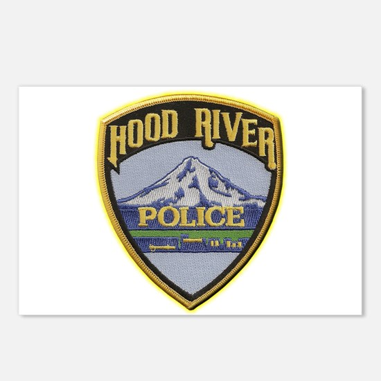 Hood River Police Postcards (Package of 8)