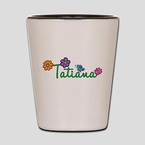 Tatiana Flowers Shot Glass