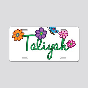 Taliyah Flowers Aluminum License Plate