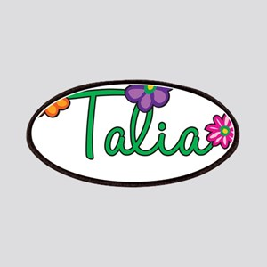 Talia Flowers Patches