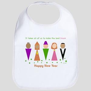 Jewish New Year Diversity Bib