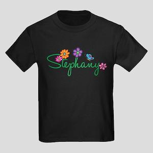 Stephany Flowers Kids Dark T-Shirt