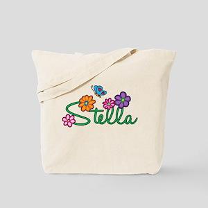 Stella Flowers Tote Bag