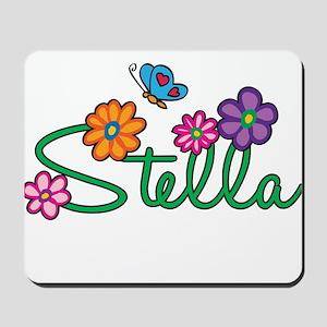 Stella Flowers Mousepad
