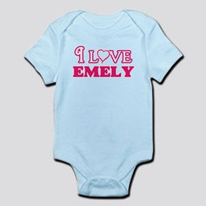 I Love Emely Body Suit