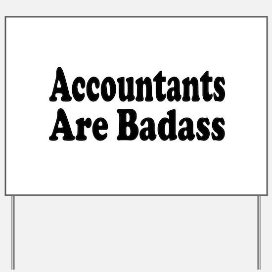 Cute Accountant Yard Sign