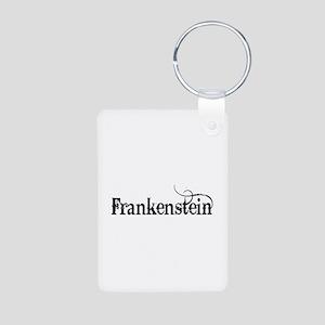 Frankenstein Aluminum Photo Keychain