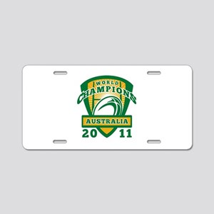 Rugby Champions Australia Aluminum License Plate