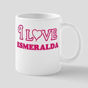 I Love Esmeralda Mugs