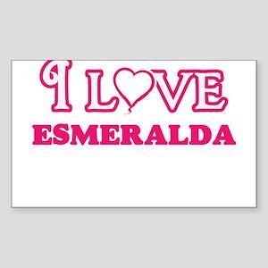 I Love Esmeralda Sticker
