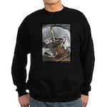 Sippin From The Saucer Sweatshirt (dark)