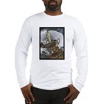 Sippin From The Saucer Long Sleeve T-Shirt