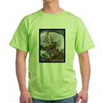 Sippin From The Saucer Green T-Shirt