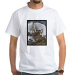 Sippin From The Saucer White T-Shirt