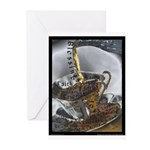 Sippin From The Saucer Greeting Cards (Pk of 20)