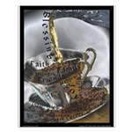 Sippin From The Saucer Small Poster