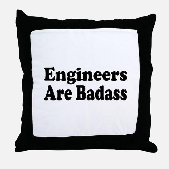 Cute Civil engineer Throw Pillow