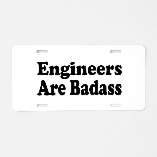 Unique Civil engineer Aluminum License Plate