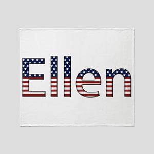 Ellen Stars and Stripes Throw Blanket