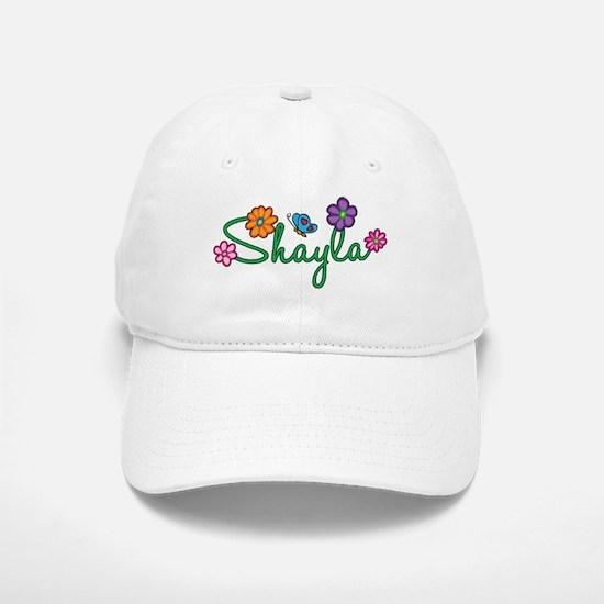 Shayla Flowers Baseball Baseball Cap