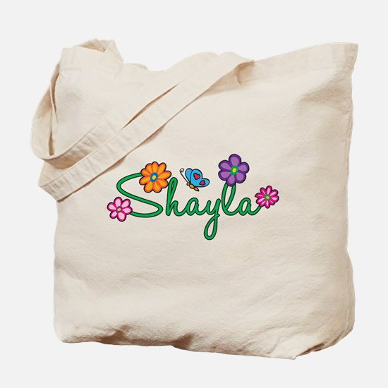 Shayla Flowers Tote Bag