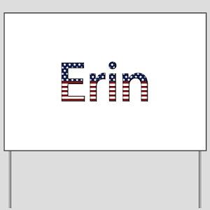 Erin Stars and Stripes Yard Sign