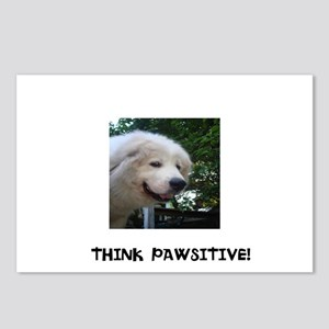 Think Pawsitive! Postcards (Package of 8)