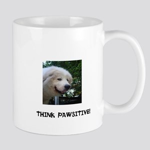 Think Pawsitive! Mug