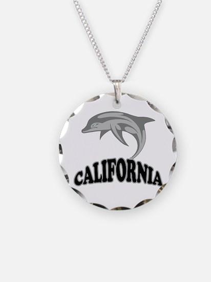 California Dolphin Souvenir Necklace